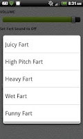 Screenshot of Fart Timer