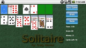 Screenshot of 1-Click Solitaire