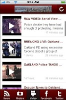 Screenshot of Oakland Daily