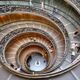 Musei Vaticani by Andrea Nanì Babcanova - Buildings & Architecture Architectural Detail