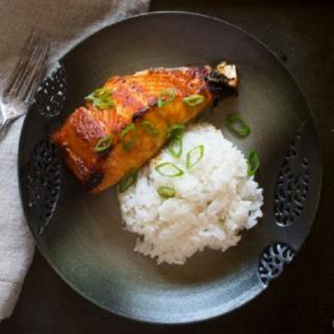 Grilled Salmon With Miso Glaze Recipe | Yummly