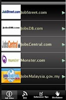 Screenshot of Malaysia Job Sites
