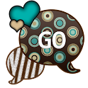 GO SMS THEME/ZebraPolkaDot icon