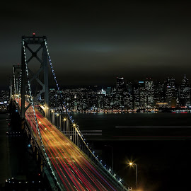 Bay Bridge by Shawn Yang - Landscapes Travel