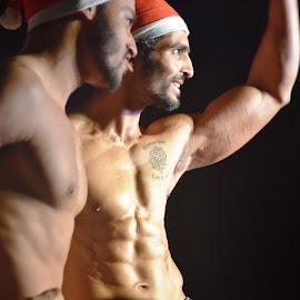 Happy  men by Akhil Munjal - People Fashion ( model, men )