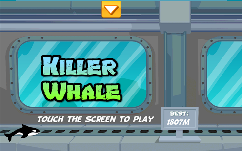 Killer Whale 2D Platform Game - screenshot