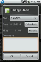 Screenshot of MyWork