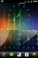 Screenshot of Lustrous Clocks