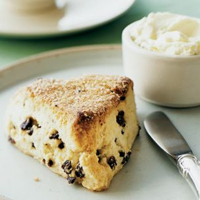 Scones with Currants and Lemon Zest