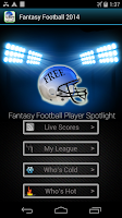 Screenshot of Fantasy Football -Hide My Text