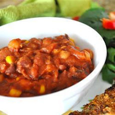 Insanely Easy Vegetarian Chilli