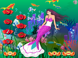 Screenshot of Mermaid Dress Up