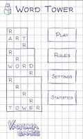 Screenshot of Word Tower (word game)