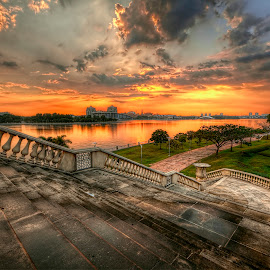 The Stairs To Sunset by Mohd Tarmudi - Buildings & Architecture Other Exteriors ( putrajaya )