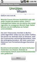 Screenshot of Unnützes Wissen Deluxe (4500)