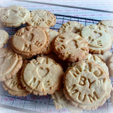 Vanilla Biscuits (cookies) (egg free)