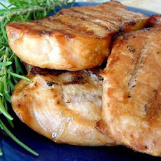 Beer Grilled Pork Chops