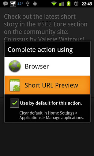 Short URL Preview