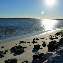 Seaside by Bill Telkamp - Novices Only Landscapes ( seaside, landscape, rocks )