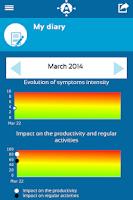 Screenshot of Allergy Track