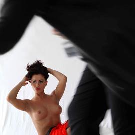 Speed of life by Andra Laie-Meritoiu - Nudes & Boudoir Boudoir ( red, girl, nude, speed, beauty, women )