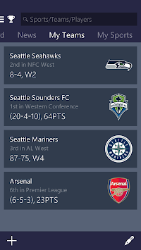 MSN Sports - Scores & Schedule APK screenshot thumbnail 3