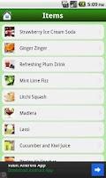 Screenshot of Drinks Recipes