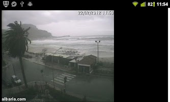 Screenshot of Palermo WebCam