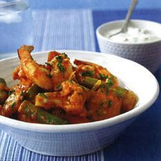Coconut Prawn And Vegetable Curry