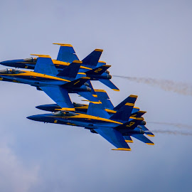 Blue Angels by Steve Marra - Transportation Airplanes ( blue angels, airshow, military,  )
