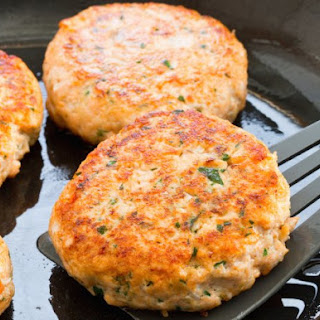 A Very Simple Salmon Burger