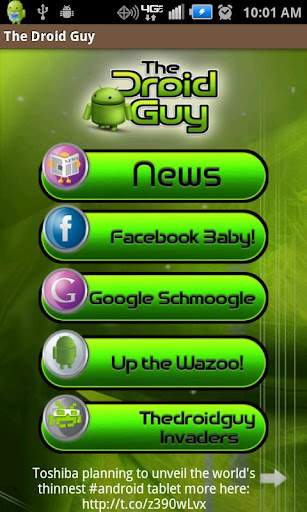 The Droid Guy App