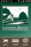 Screenshot of Cannon Beach Vacation Rentals