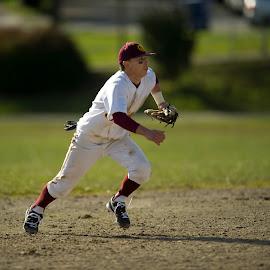 HS Baseball-1 by Greg Varney - Sports & Fitness Basketball ( seattle, judkins park, shortstop, o'dea, baseball varsity,  )