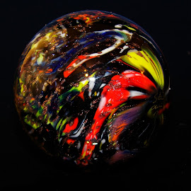 by Gene Hite - Artistic Objects Glass ( marble, patterns, colorful, colors, marbles, glass,  )