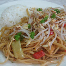Low Fat, Low Cal, Vegan Pad Thai