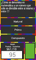 Screenshot of Kizzer (Juego Trivial)