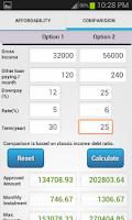 Screenshot of Home Loan Calculator