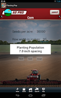 Screenshot of Planting Population Calculator