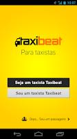 Screenshot of Taxibeat Taxistas