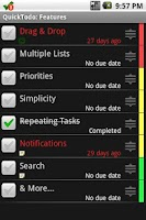 Screenshot of QuickTodo Pro