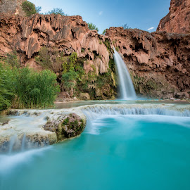 Havasupai Falls by Sean Munzlinger - Landscapes Waterscapes (  )
