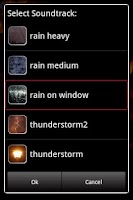 Screenshot of Rain Sounds for Sleep
