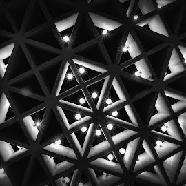 Triangles by Iftikhar Ahmad - Abstract Patterns