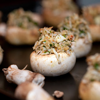 Healthy Stuffed Mushrooms With Crabmeat Recipes