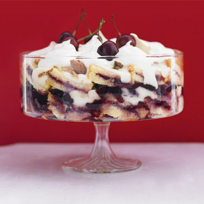 Mary's Royal Cherry Trifle