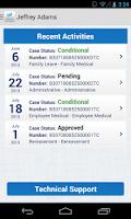 Screenshot of viaOne Express
