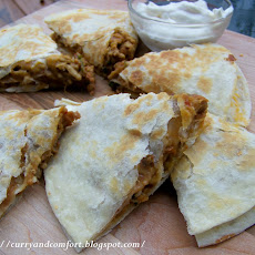 Triple Decker Loaded Quesadillas