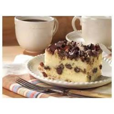 Chocolate Chunk-Cinnamon Coffee Cake