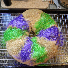 Mardi Gras Kings Cake (Optional Bread Machine Version)